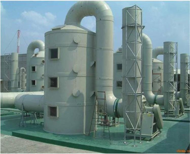 工业废气净化塔pp喷淋塔废气处理设备酸雾吸收塔除尘水淋塔厂家